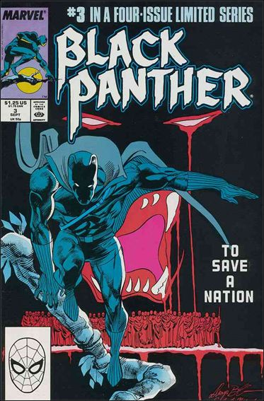 Black Panther (1988) 3-A by Marvel