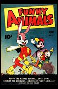 Fawcett's Funny Animals 7-A