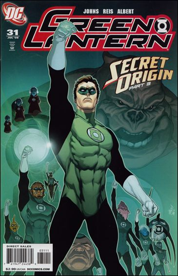 Green Lantern (2005) 31-A by DC