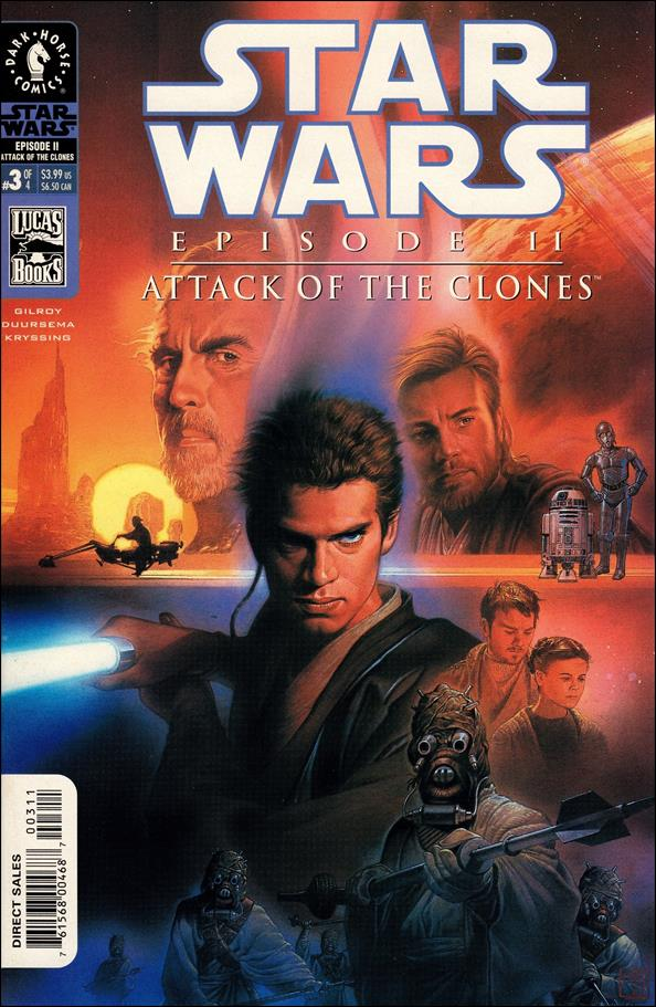 Star Wars: Episode II - Attack of the Clones 3-A by Dark Horse