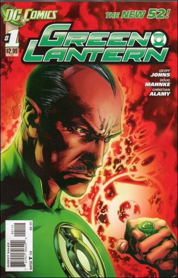 Green Lantern (2011) 1-D by DC