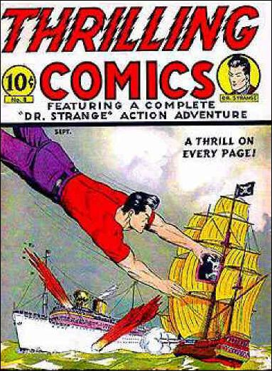 Thrilling Comics (1940) 8-A by Standard