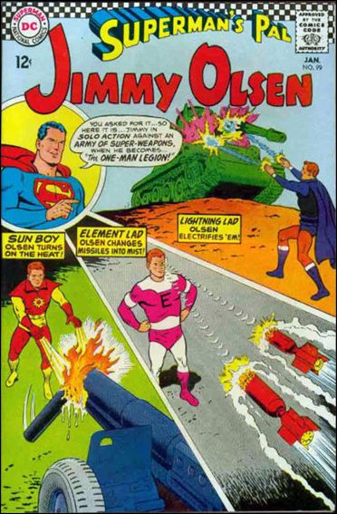 Superman's Pal Jimmy Olsen 99-A by DC