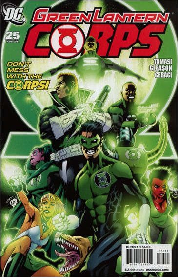 Green Lantern Corps (2006) 25-A by DC