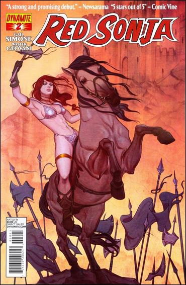Red Sonja (2013) 2-A by Dynamite Entertainment