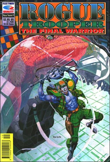 Rogue Trooper The Final Warrior 9-A by Fleetway Quality