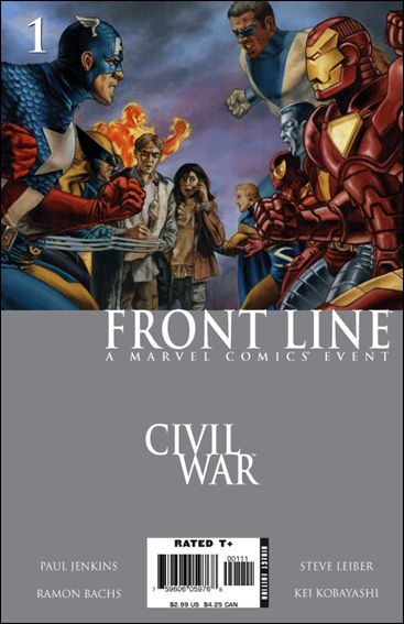Civil War: Front Line 1-A by Marvel