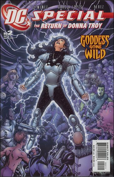 DC Special: The Return of Donna Troy 2-A by DC