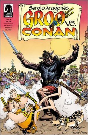Groo vs. Conan 2-A