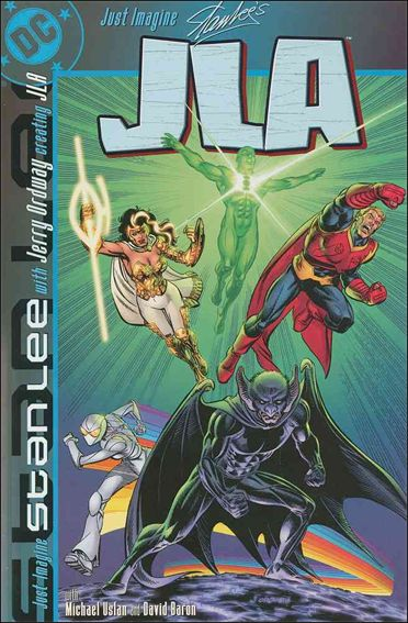 Just Imagine Stan Lee with Jerry Ordway Creating JLA 1-A by DC