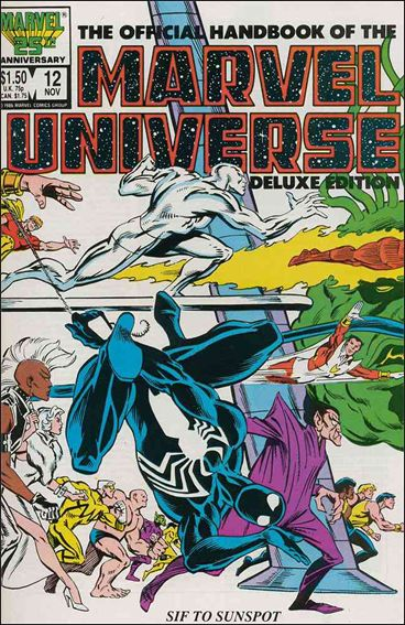 Official Handbook of the Marvel Universe (1985) 12-A by Marvel