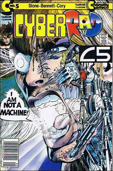 CyberRad (1991) 5-B by Continuity Comics