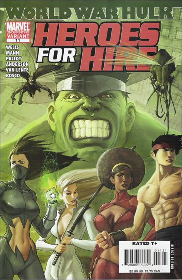 Heroes for Hire (2006) 11-B by Marvel