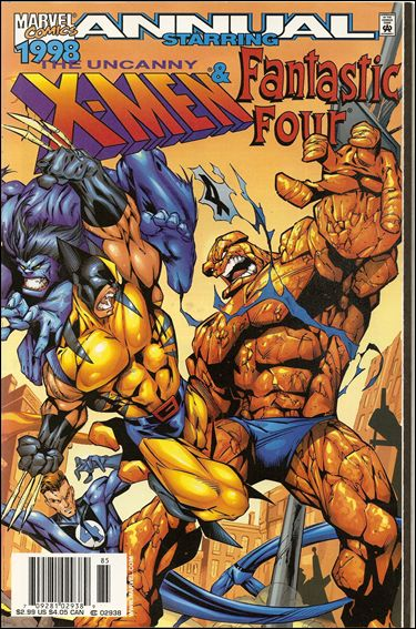 Uncanny X-Men Annual '1998'-A by Marvel