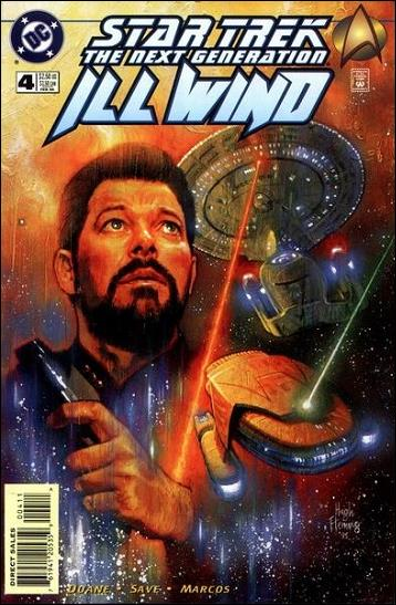 Star Trek: The Next Generation—Ill Wind 4-A by DC