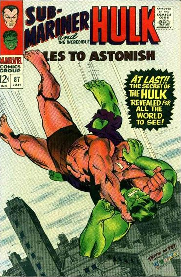 Tales to Astonish (1959) 87-A by Marvel