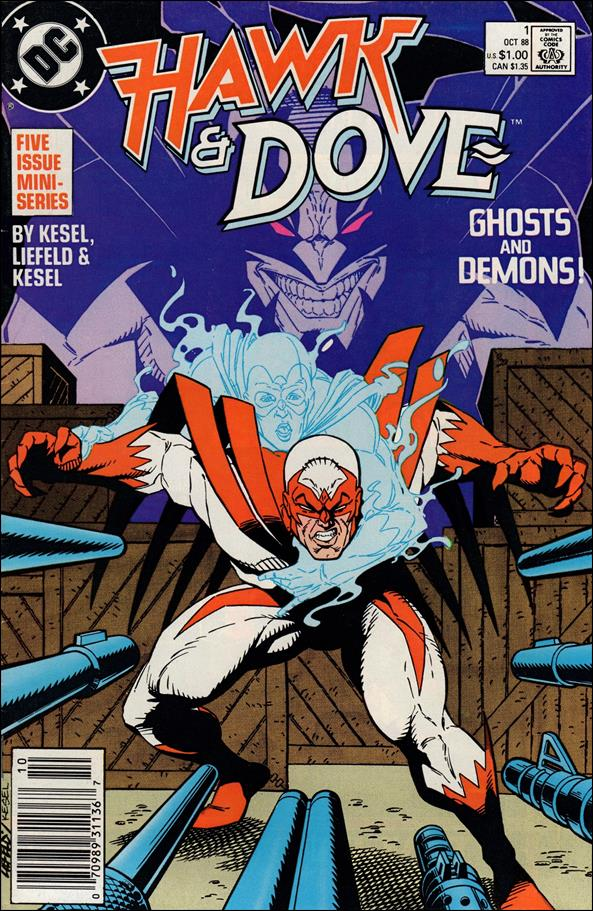 Hawk and Dove (1988) 1-A by DC