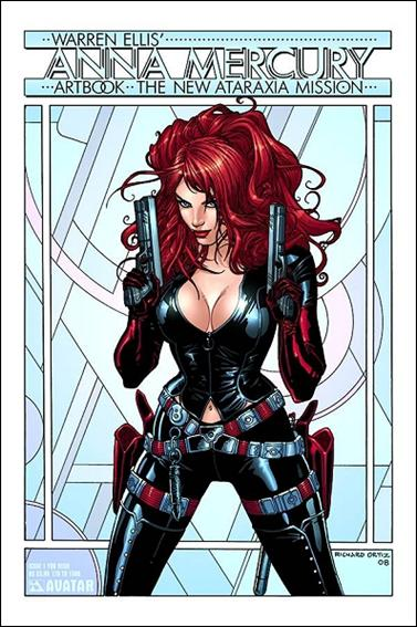 Warren Ellis' Anna Mercury Artbook: The New Ataraxia Mission 1-F by Avatar Press