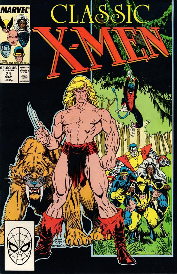 Classic X-Men 21-A by Marvel