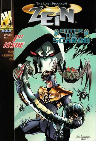 Zein 1-A by AK Comics