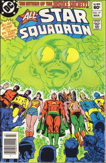 All-Star Squadron 19-A by DC