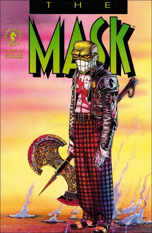 Mask (1991) 4-A by Dark Horse