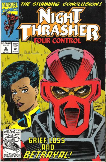 Night Thrasher: Four Control 4-A by Marvel