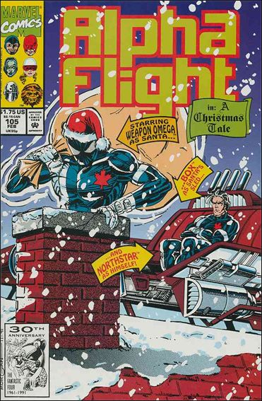 Alpha Flight (1983) 105-A by Marvel