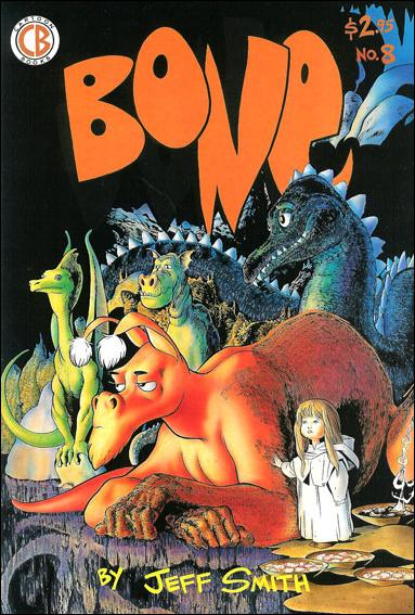 Bone (1991) 8-D by Cartoon Books