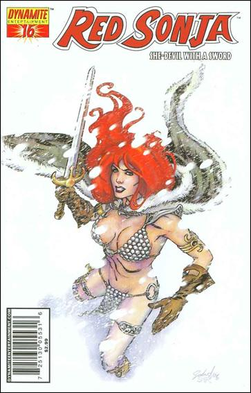 Red Sonja (2005) 16-C by Dynamite Entertainment