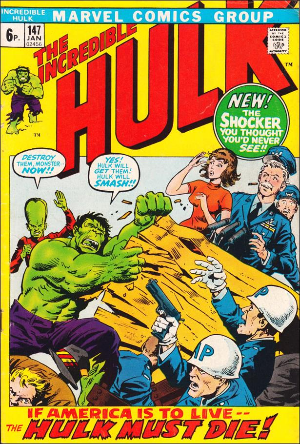 Incredible Hulk (1968) 147-B by Marvel