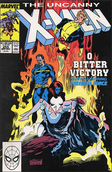 Uncanny X-Men (1981) 255-A by Marvel