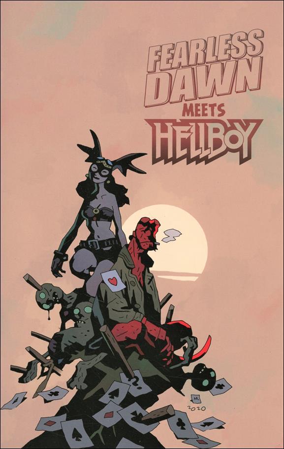 Fearless Dawn Meets Hellboy nn-B by Albatross Funnybooks
