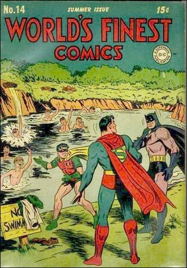 World's Finest Comics 14-A by DC