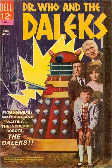 Dr. Who and the Daleks nn-A by Dell