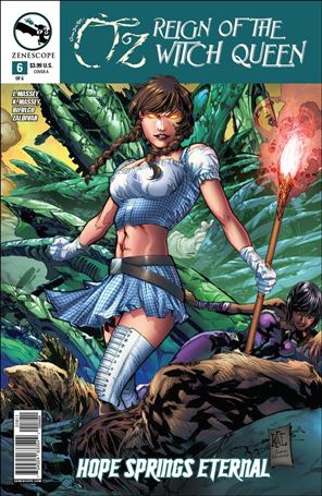 Grimm Fairy Tales Presents Oz: Reign of the Witch Queen 6-A