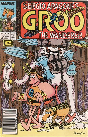 Sergio Aragones Groo the Wanderer 31-A by Epic