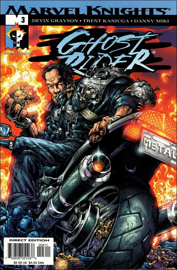 Ghost Rider (2001) 3-A by Marvel