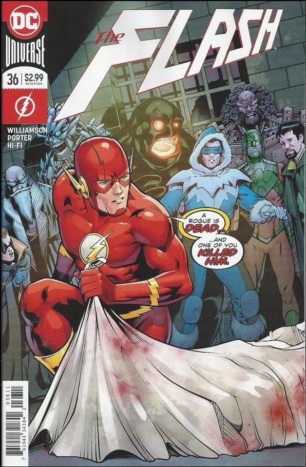 Flash (2016) 36-A by DC
