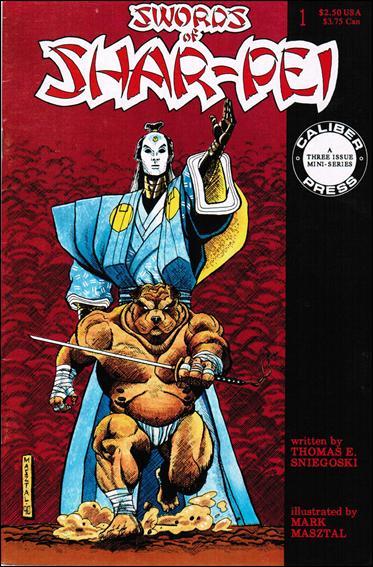 Swords of Shar-Pei 1-A by Caliber