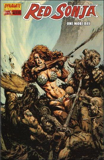 Red Sonja: One More Day 1-B by Dynamite Entertainment