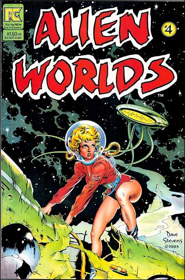 Alien Worlds (1982) 4-A by Pacific Comics