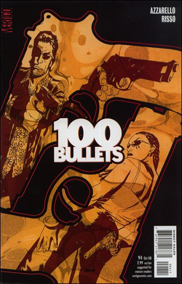 100 Bullets 94-A by Vertigo