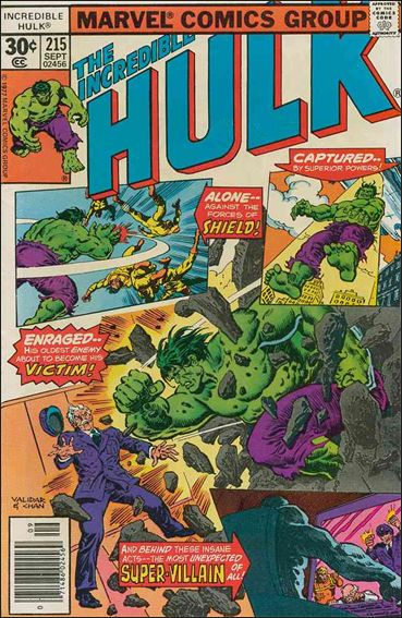 Incredible Hulk (1968) 215-A by Marvel