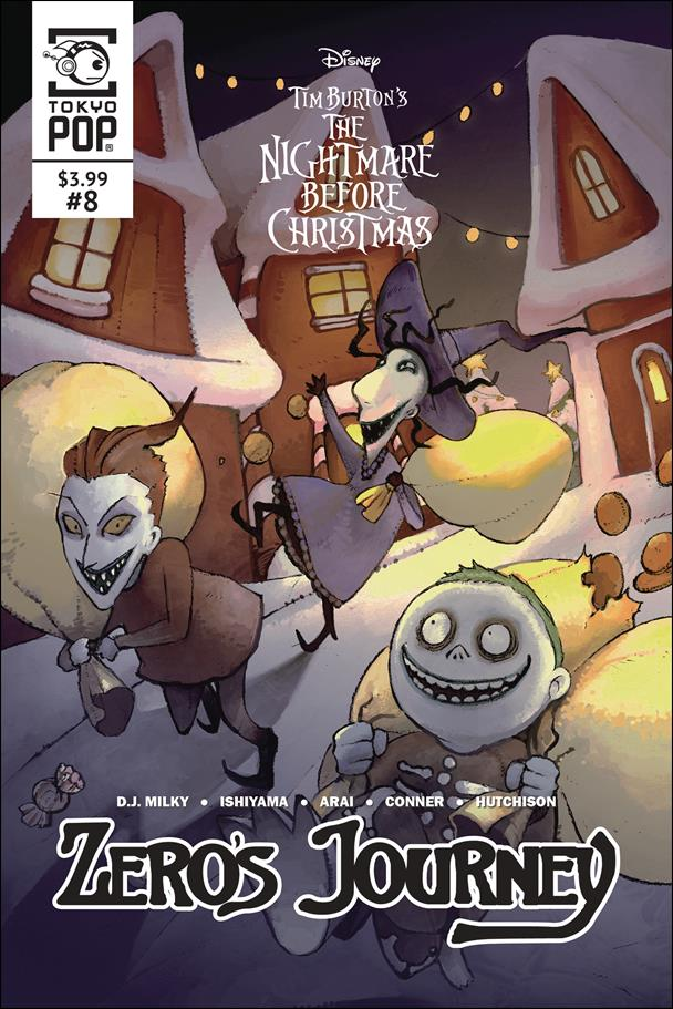 Nightmare Before Christmas: Zero's Journey 8-A by Tokyopop
