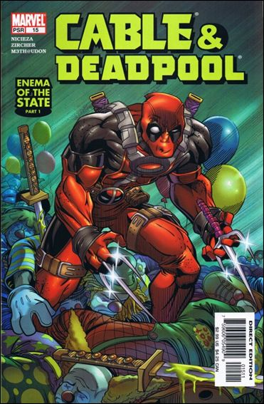 Cable & Deadpool 15-A by Marvel