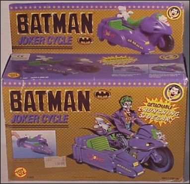 Batman (Movie) Vehicles Joker Cycle by Toy Biz