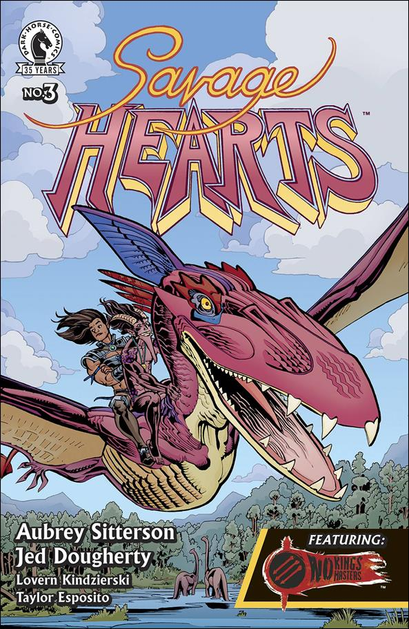 Savage Hearts 3-A by Dark Horse