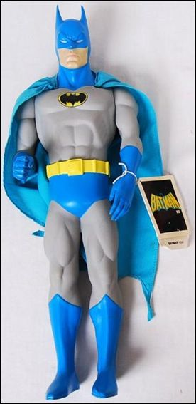 DC 15  Action Figures Batman (Blue and Gray Costume) by Presents & DC 15