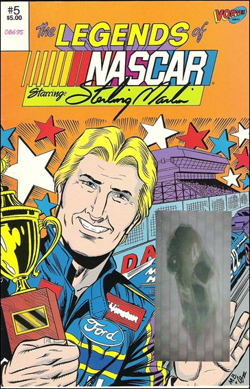 Legends of Nascar 5-A by Vortex Comics